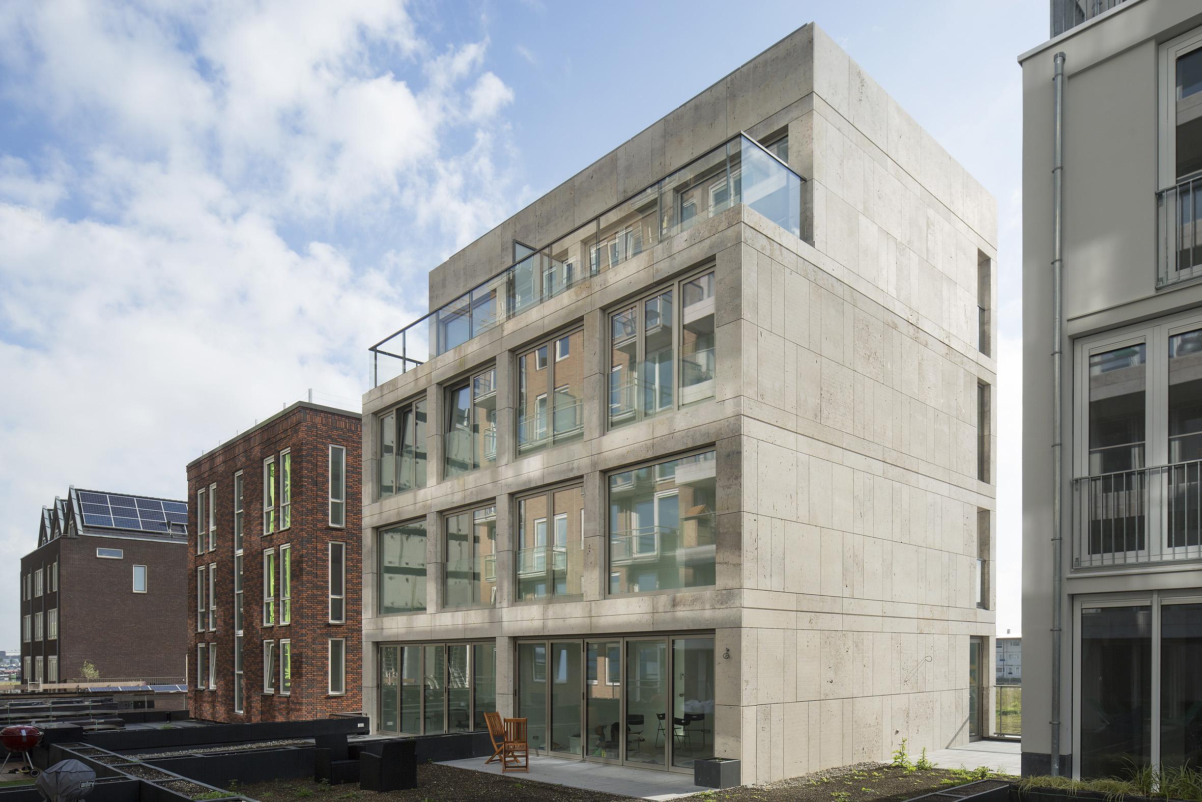 Atelier PUUUR BLOK herenhuis 2 kadewoning BLOK0 Houthaven Amsterdam CO zelfbouw