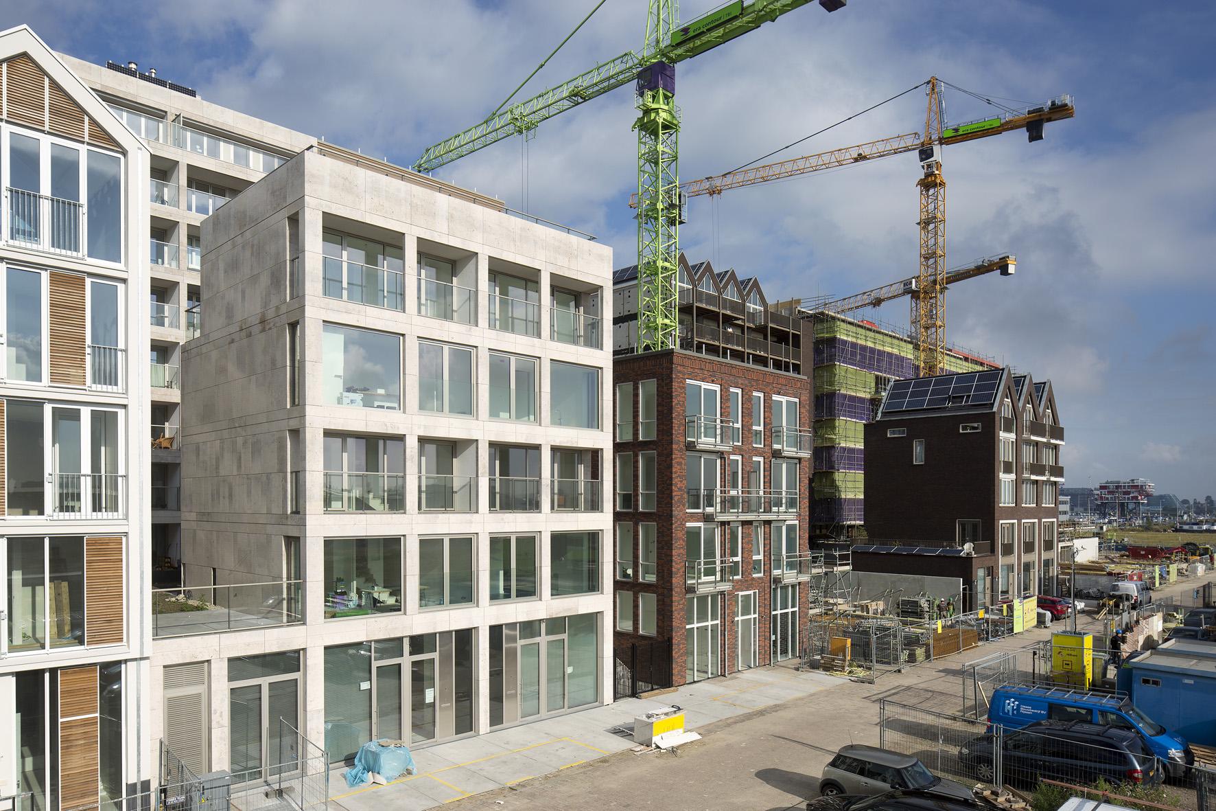 Atelier PUUUR BLOK herenhuis 3 kadewoning BLOK0 Houthaven Amsterdam CO zelfbouw