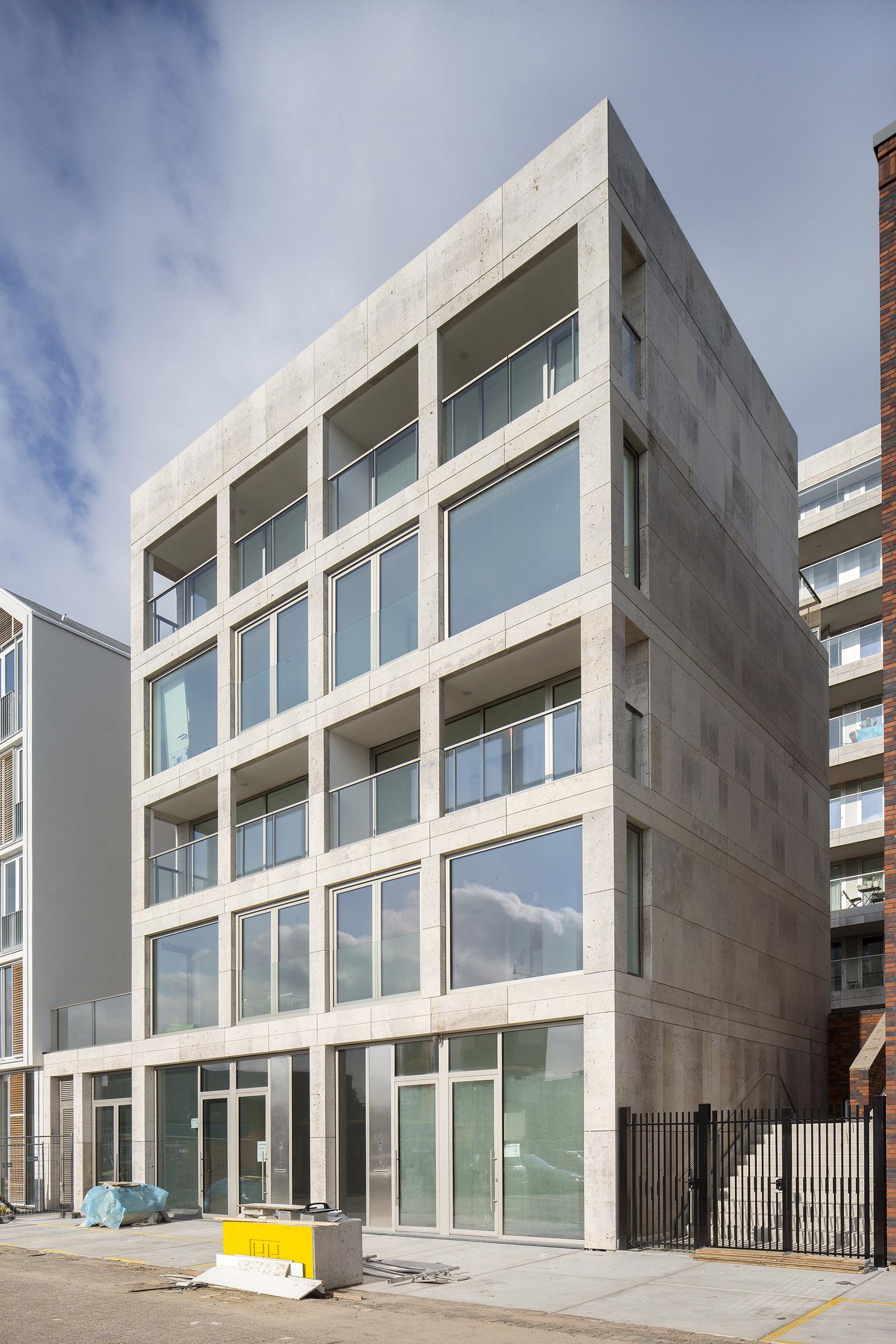 Atelier PUUUR BLOK herenhuis kadewoning BLOK0 Houthaven Amsterdam CO zelfbouw