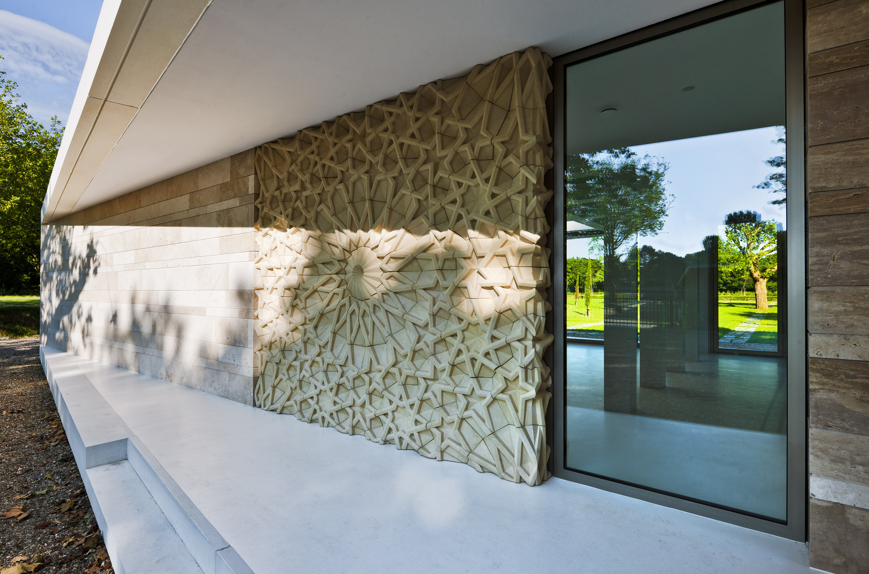 Islamic cemetery graveyard pavilion atelier PUUUR De Nieuwe Ooster facade