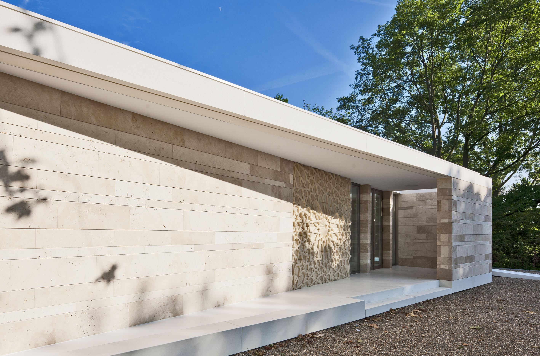Islamic cemetery graveyard pavilion atelier PUUUR De Nieuwe Ooster facade2