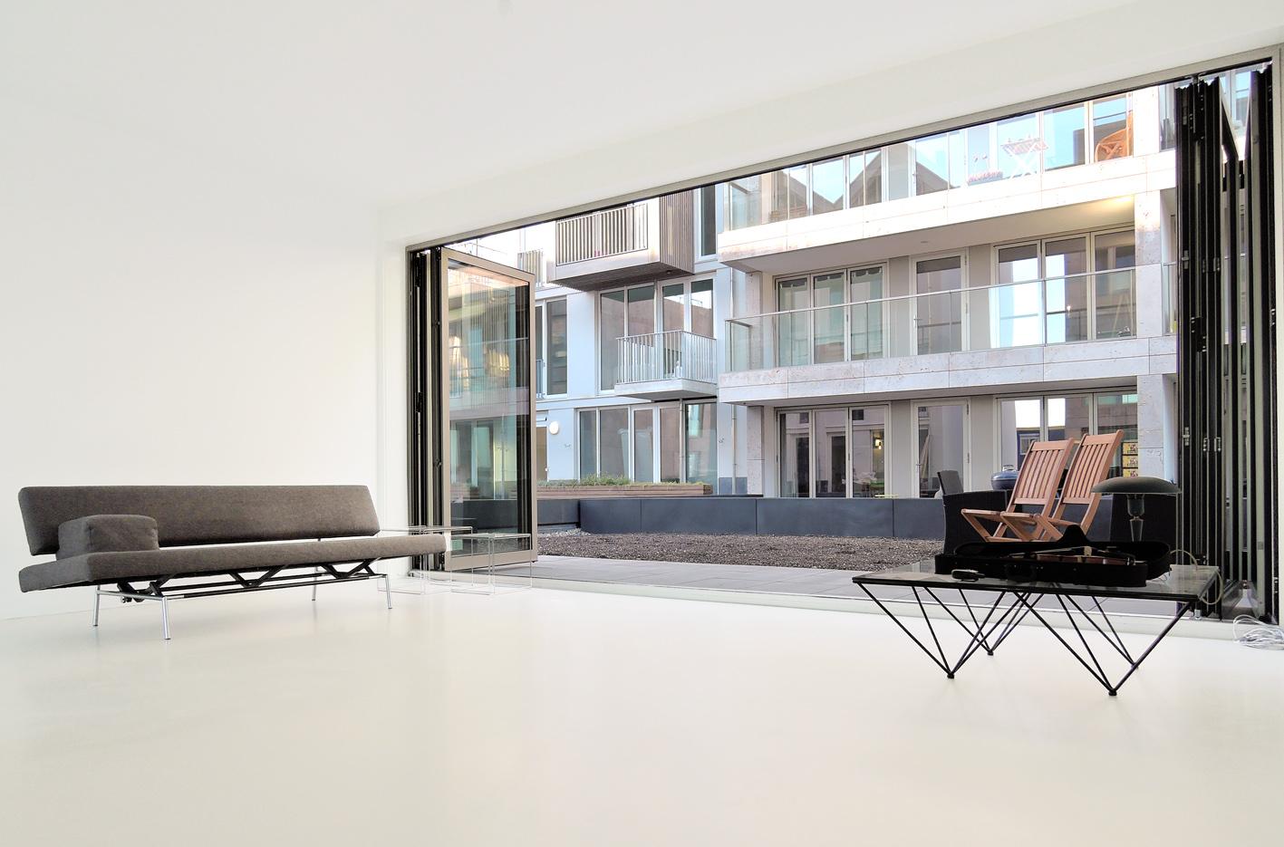 Atelier PUUUR BLOK interieur vouwpui herenhuis kadewoning BLOK0 Houthaven Amsterdam CO zelfbouw