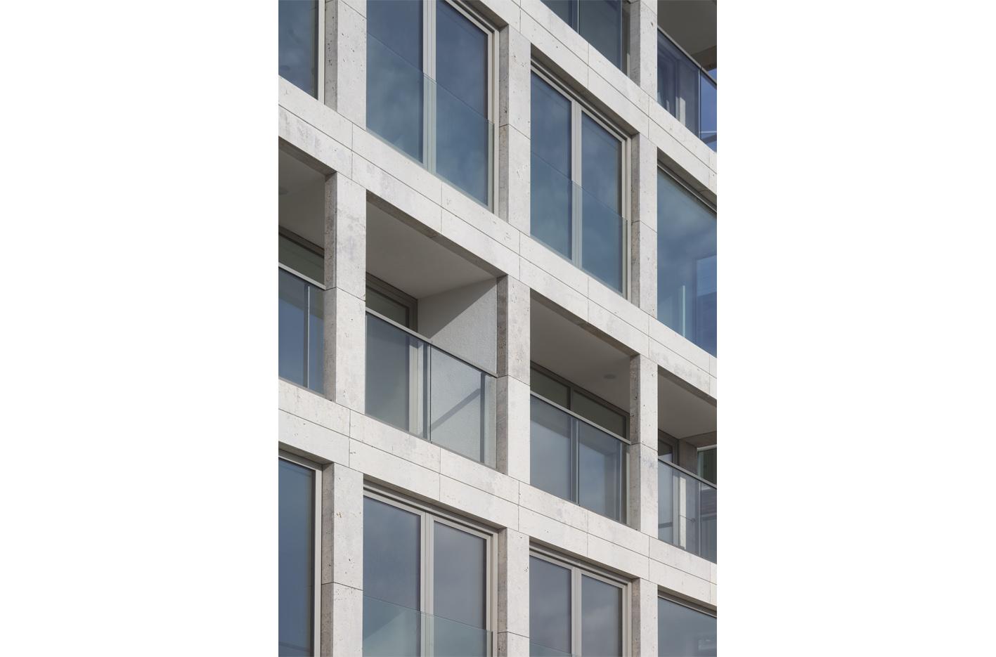 Atelier PUUUR BLOK straatbeeld geveldetail kadewoningen Houthaven Amsterdam CO zelfbouw
