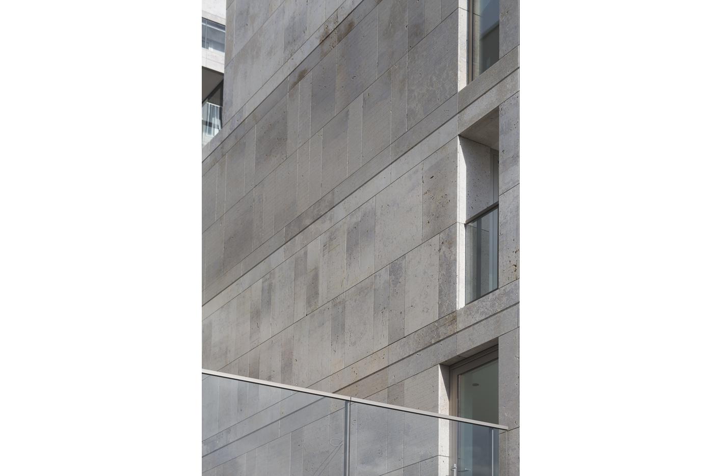 Atelier PUUUR BLOK straatbeeld zijgeveldetail kadewoningen Houthaven Amsterdam CO zelfbouw
