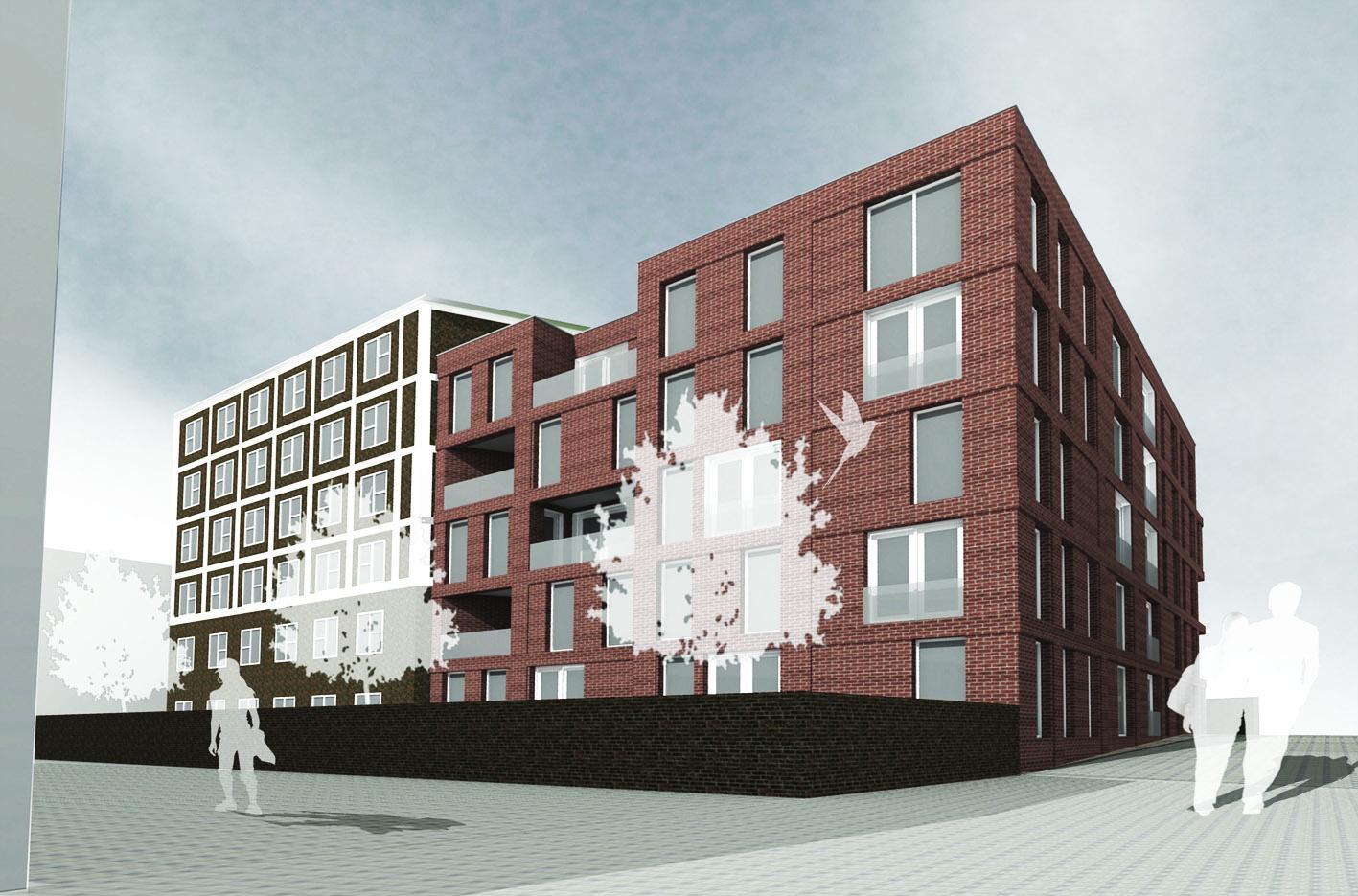 Brikkenhof Sphinx Maastricht Europan10 atelier PUUUR 3D