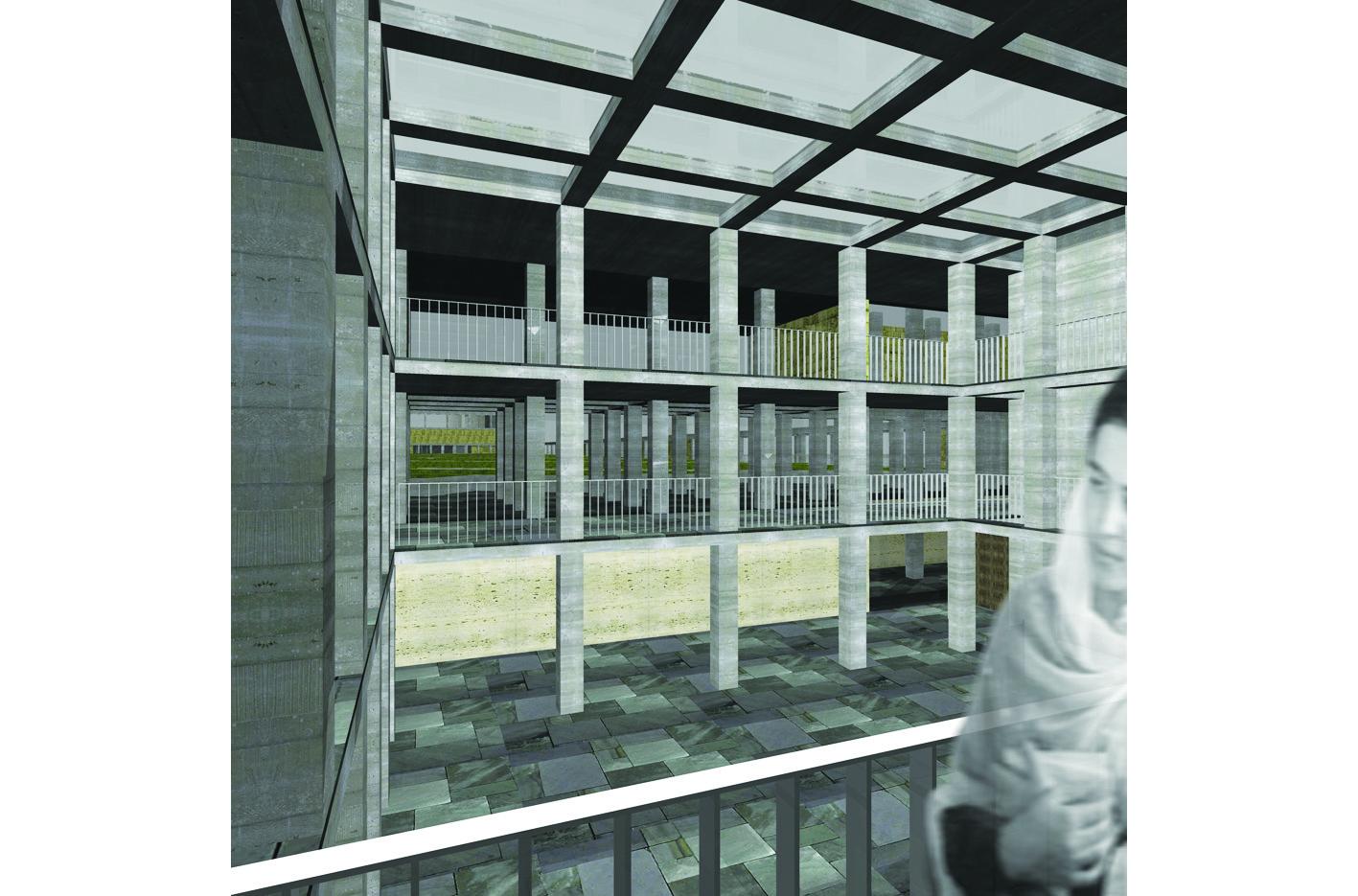 Islamitische Begraafplaats Amsterdam West academie van Bouwkunst Atelier PUUUR furkan Köse Erasmuspark omloop  winnaar Archiprix 2005