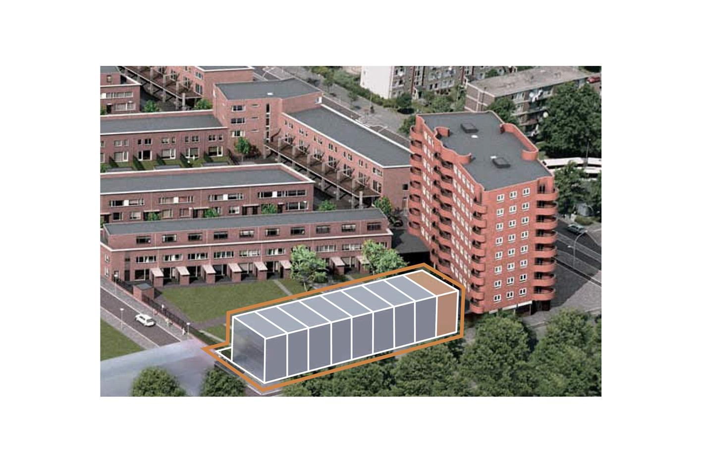 Kavel 9 van Tijenbuurt Getijenveld Atelier PUUUR zelfbouw zelfbouw particulier Opdrachtgeverschap Amsterdam nieuw West