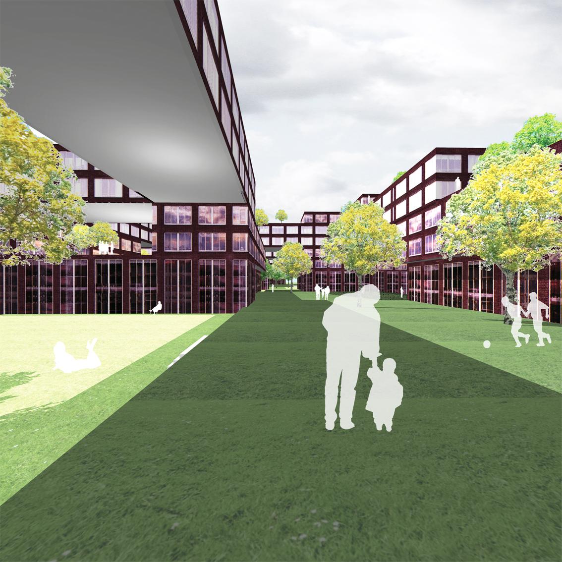 Lelylaan atelier PUUUR cultureel geinspireerd wonen hof3 BNA Jonge Architecten Prijsvraag