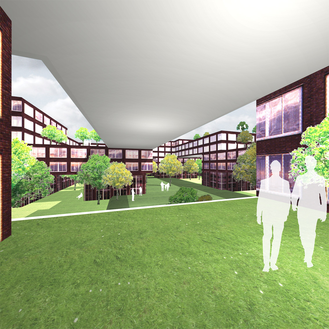 Lelylaan atelier PUUUR cultureel geinspireerd wonen hof4 BNA Jonge Architecten Prijsvraag