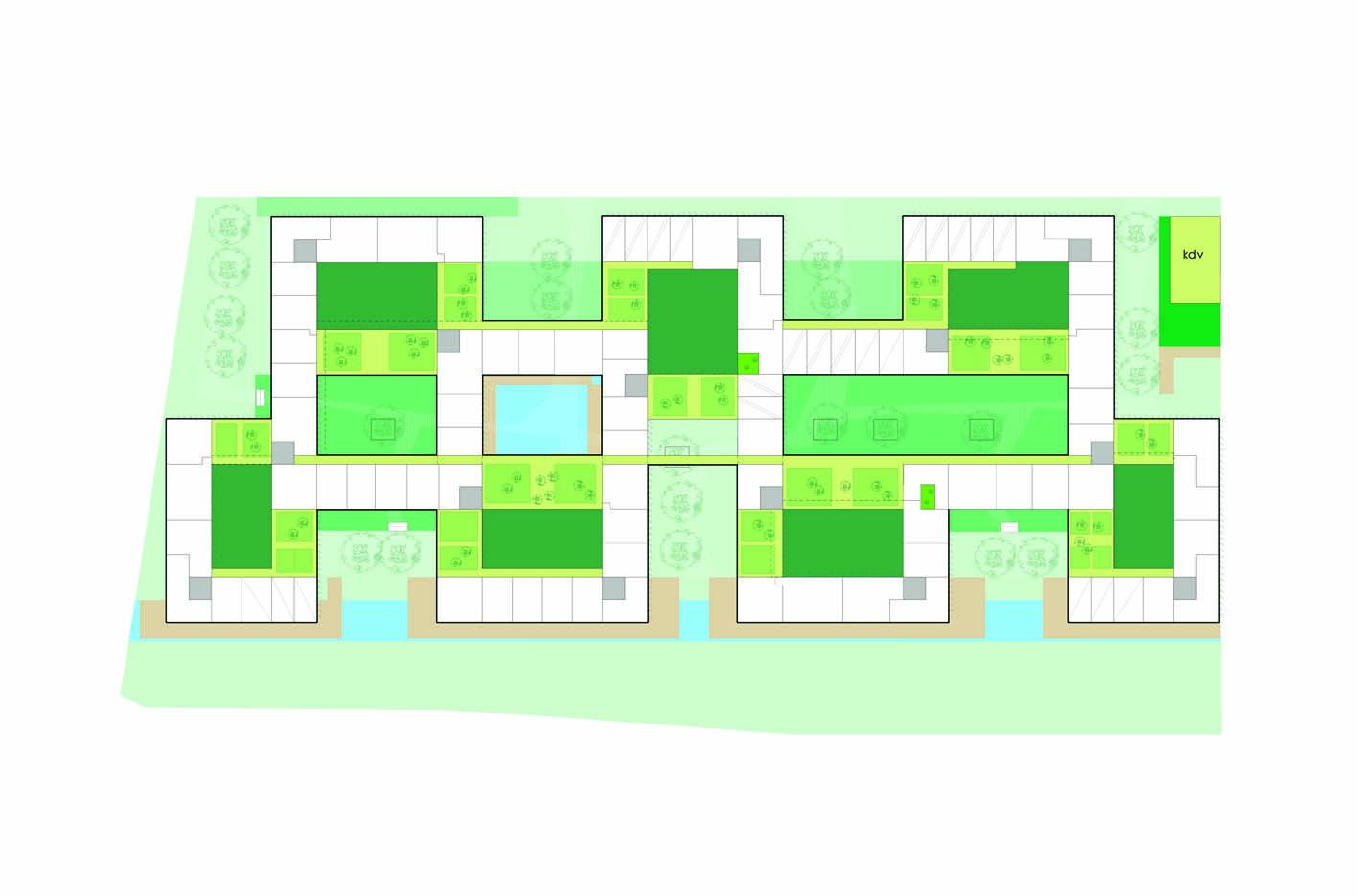 Lelylaan atelier PUUUR cultureel geinspireerd wonen woningbouw stedenbouwkundig plan 4&5 BNA Jonge Architecten Prijsvraag