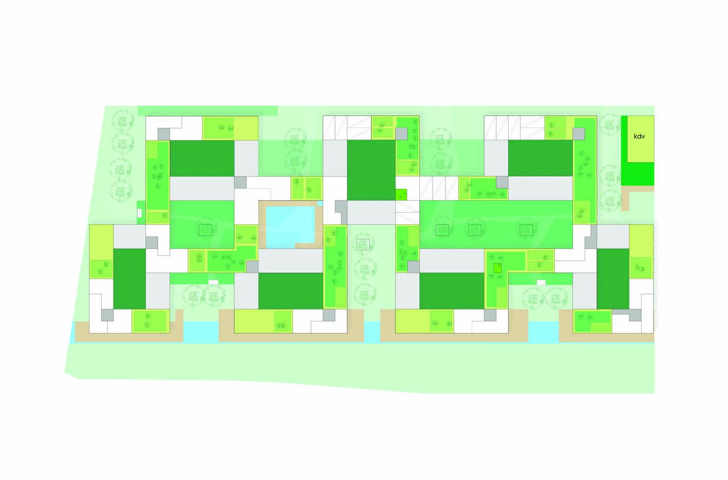 Lelylaan atelier PUUUR cultureel geinspireerd wonen woningbouw stedenbouwkundig plan 6 BNA Jonge Architecten Prijsvraag