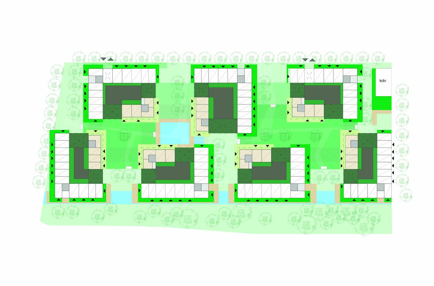 Lelylaan atelier PUUUR cultureel geinspireerd wonen woningbouw stedenbouwkundig plan BG BNA Jonge Architecten Prijsvraag