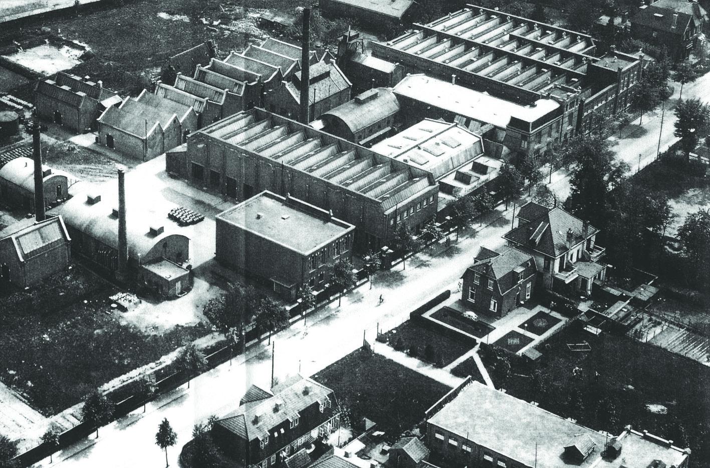 Lucent terrein Ripolin 1935 Hilversum Alliantie Atelier PUUUR