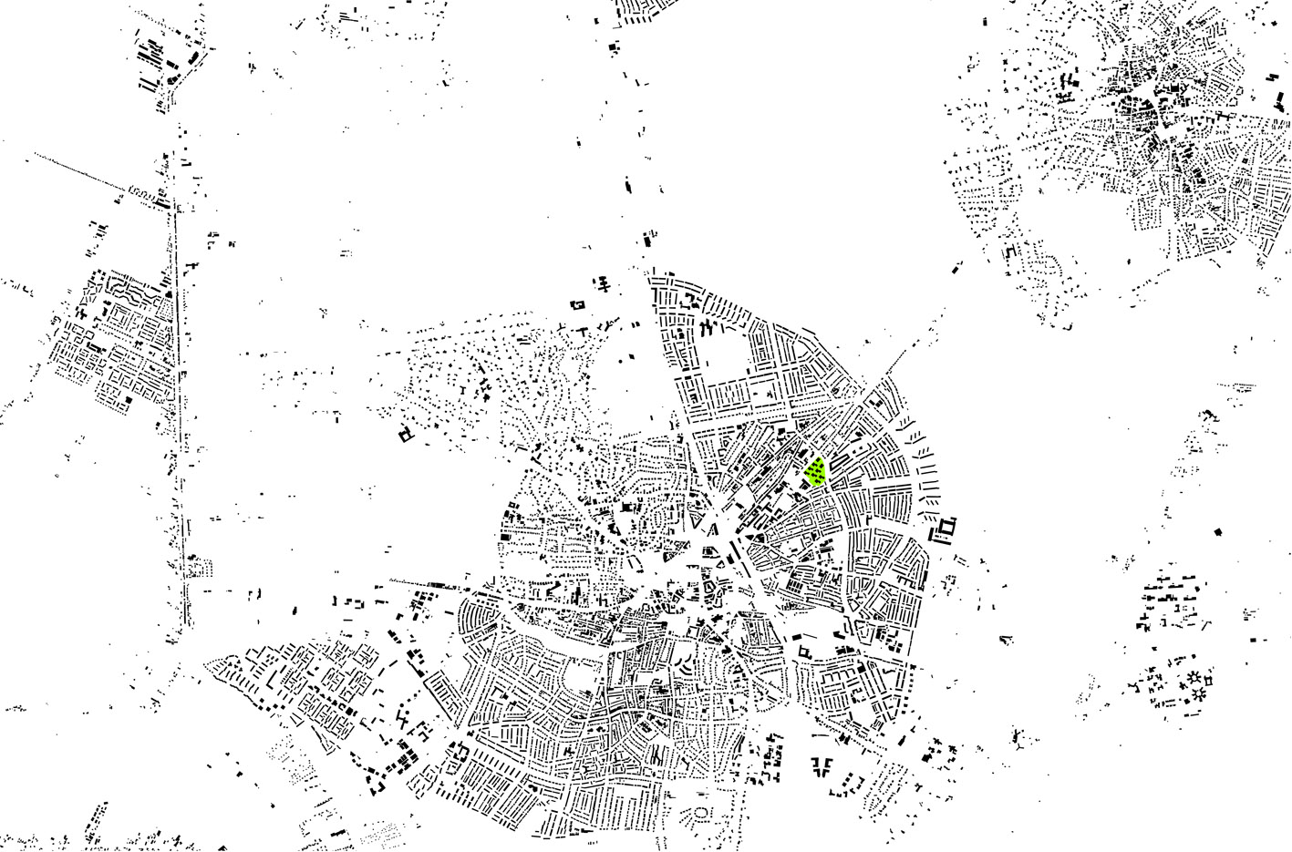 Lucent terrein Ripolin Hilversum stedenbouwkundig plan 2 Alliantie Atelier PUUUR