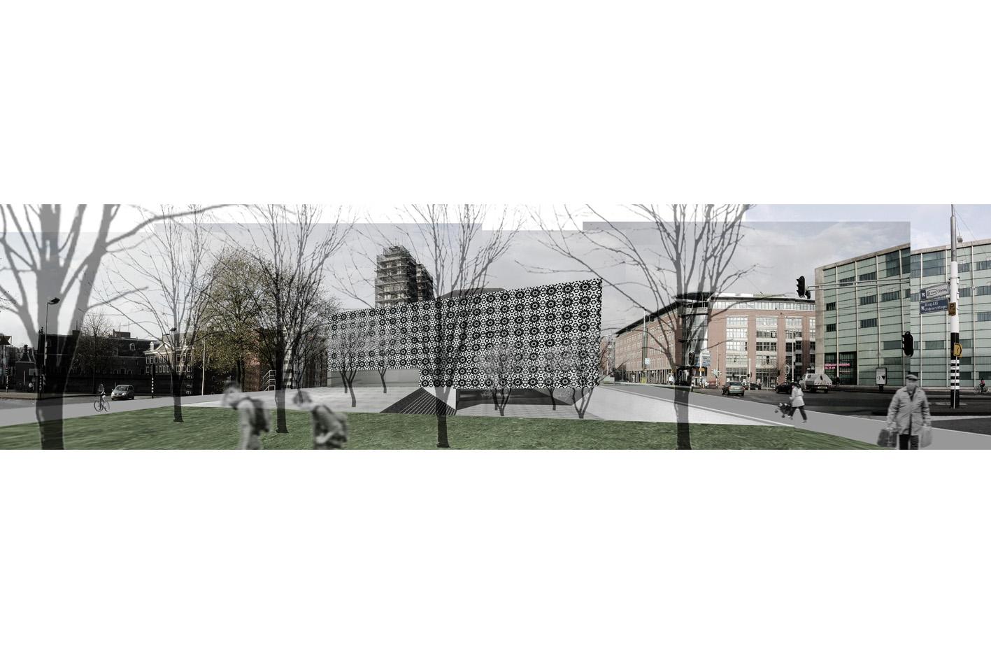 Nederlands Islamitisch Cultureel Instituut Amsterdam mr visserplein Atelier PUUUR prix de rome kaart panorama