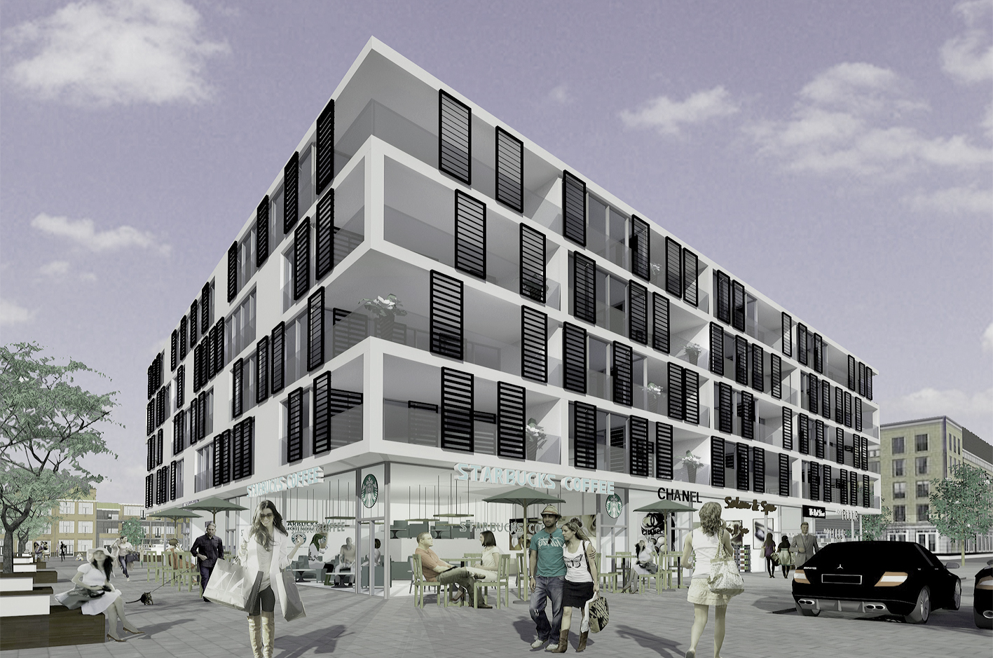 PUUUR PODIUM AMSTERDAM NIEUWBOUW CPO gevelbeeld atelier PUUUR zelfbouw mede collectief opdrachtgeverschap