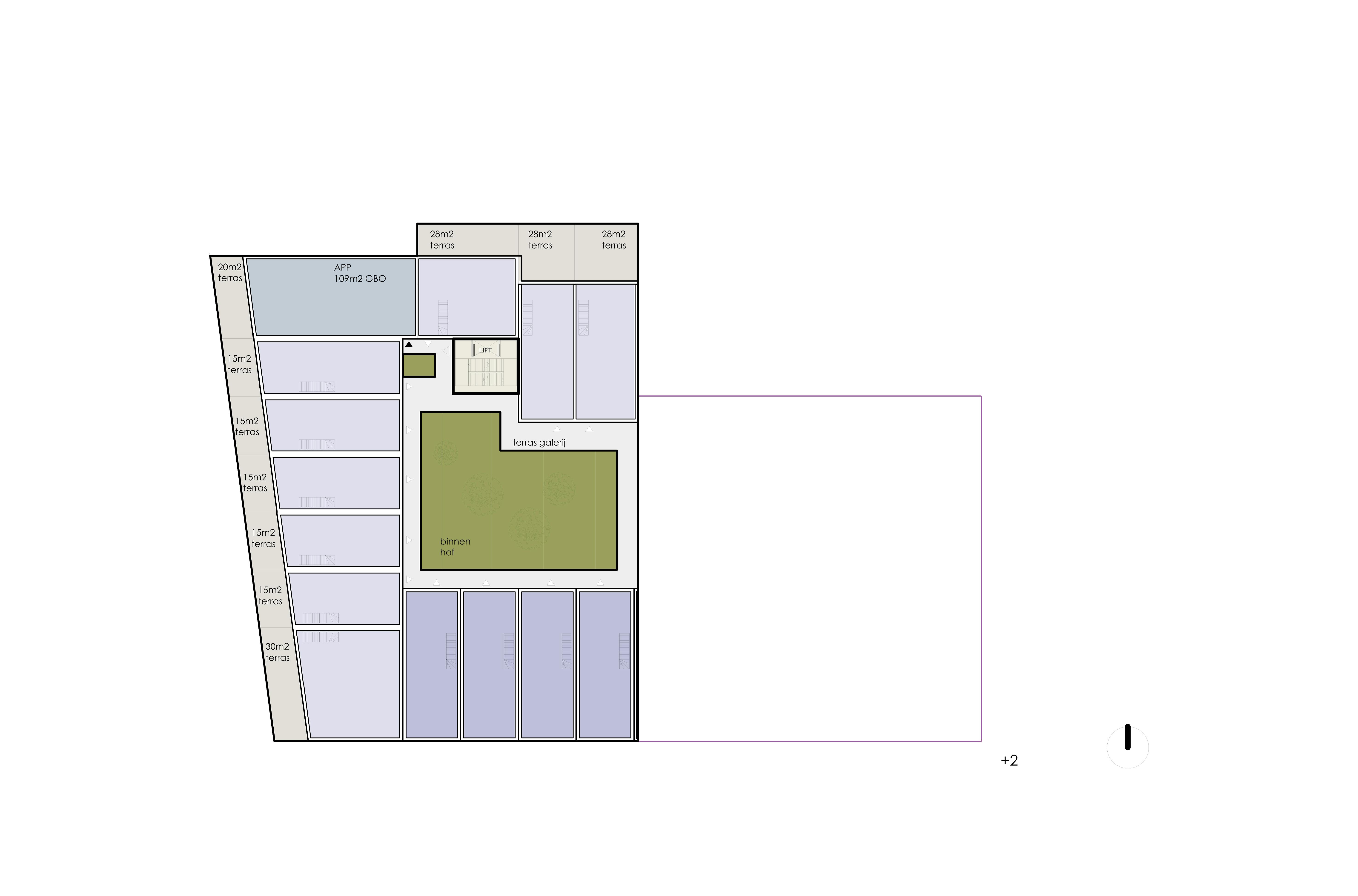 PUUUR PODIUM AMSTERDAM NIEUWBOUW CPO plattegrond vrij indeelbaar  atelier PUUUR mede collectief opdrachtgeverschap