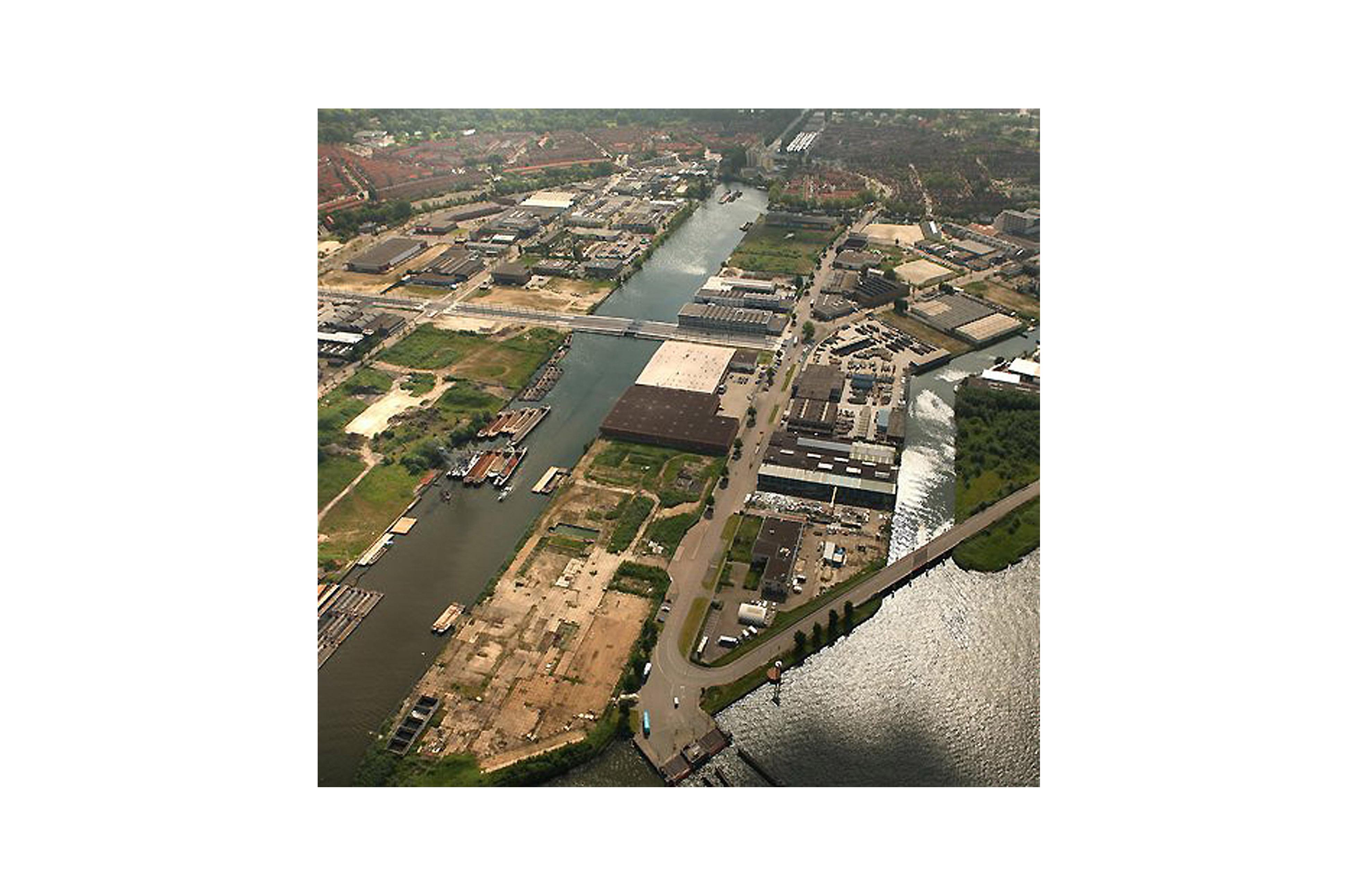 PUUUR&CO CPO Buiksloterham atelier PUUUR zelfbouw luchtfoto Amsterdam Noord