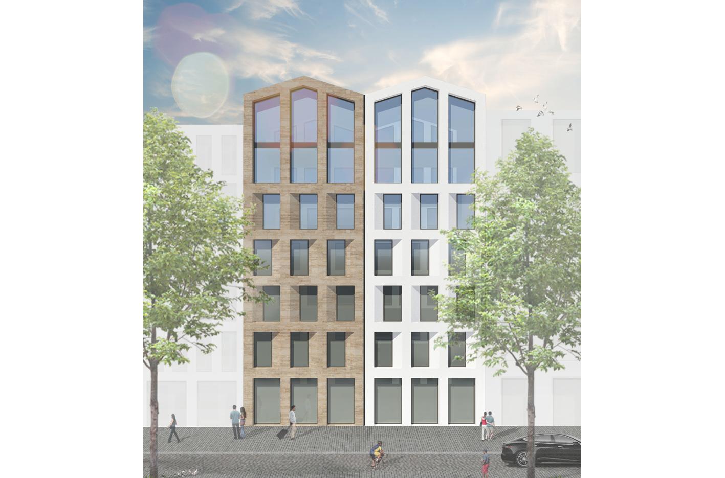 PUUUR&CO CPO Buiksloterham atelier PUUUR zelfbouw voorgevel Amsterdam Noord