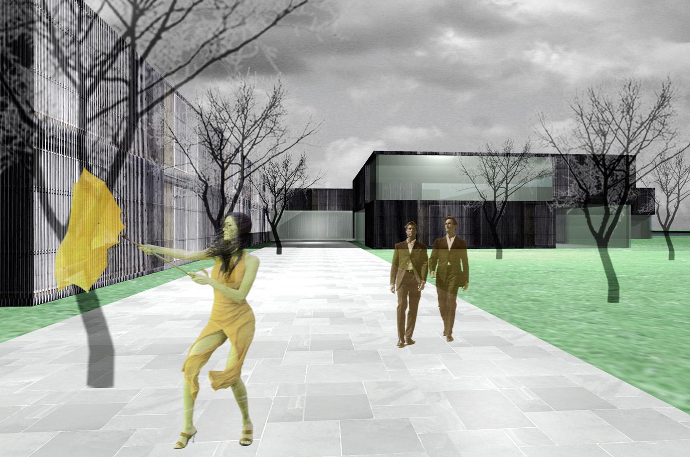 Spa Wellness Hotel Maarssen maarssenveenseplassen atelier PUUUR 3D entree