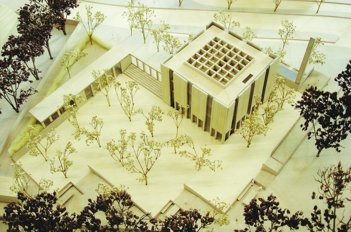 TCC_ Doetinchem moderne moskee minaret maquette_contemporary mosque atelier PUUUR