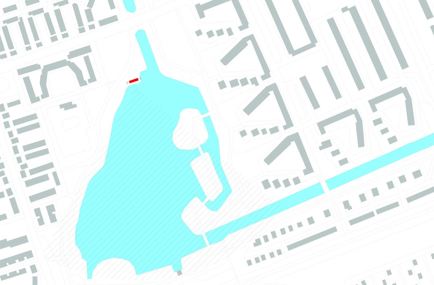 Theehuis Paviljoen Schellingwouderbreek plas Amsterdam Noord