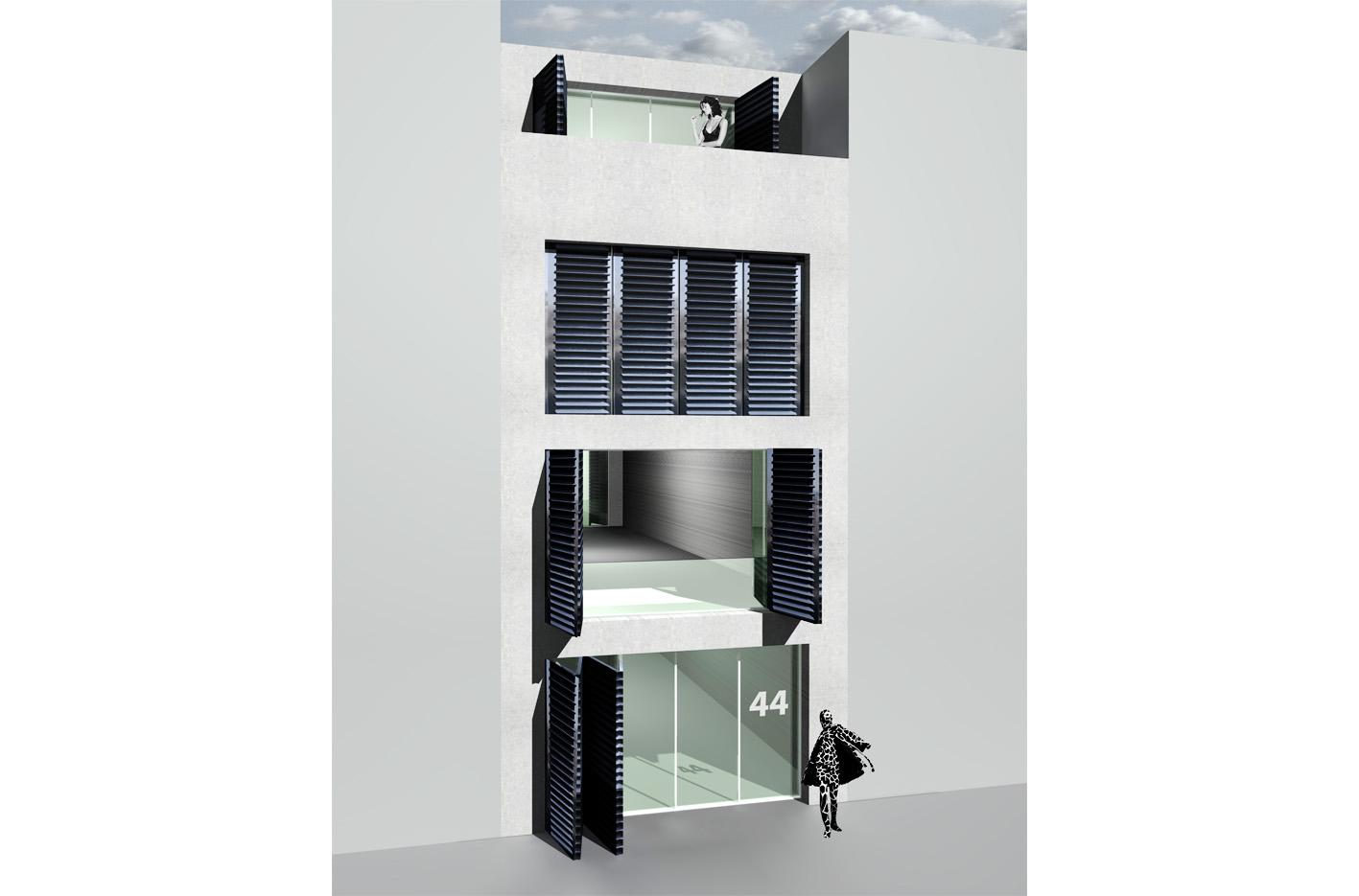 Zeeburgereiland PO zelfbouw kavel atelier PUUUR grondgebonden woning 3D impressie