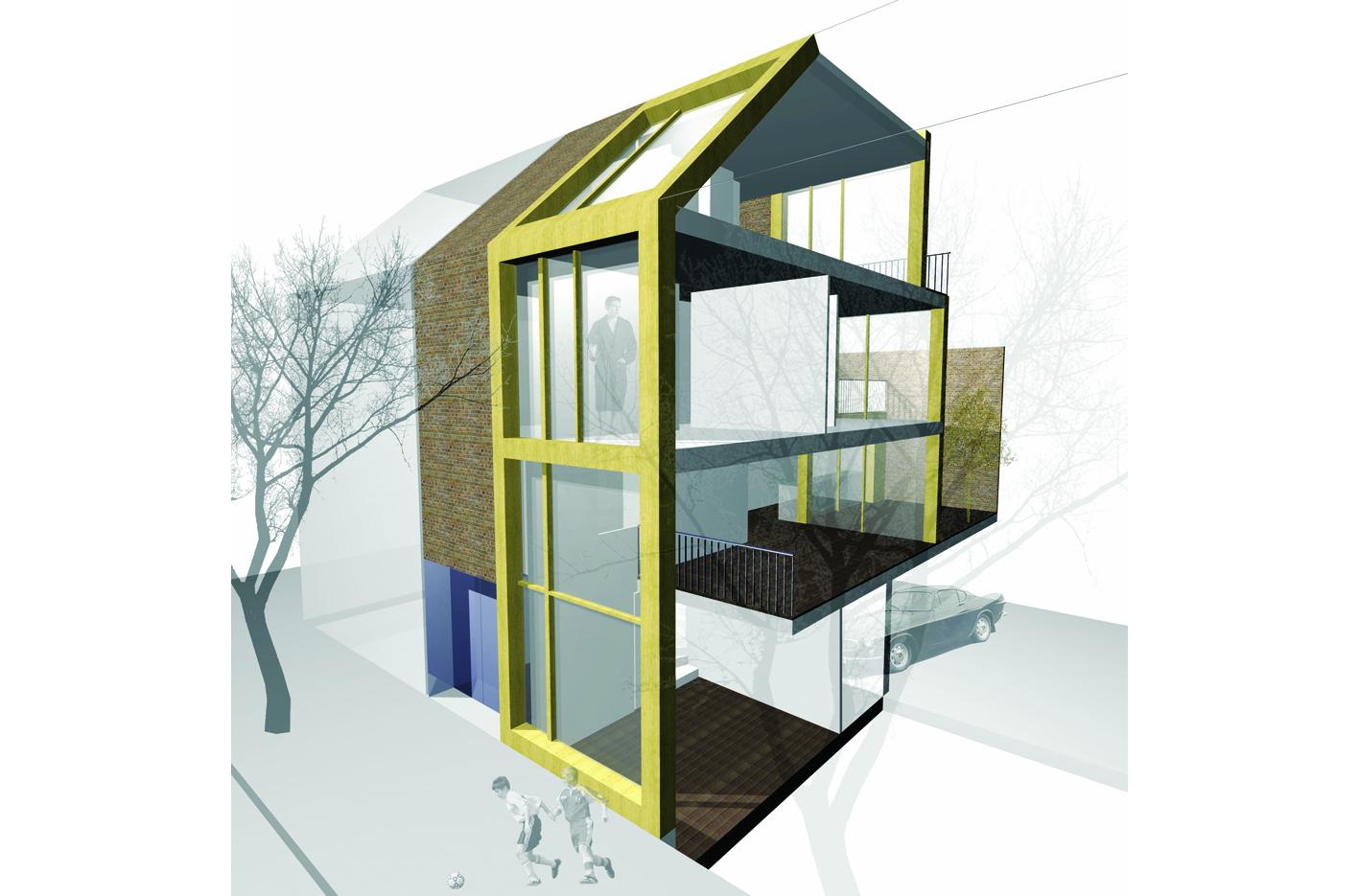 patio3 atelier PUUUR Leiden nieuw leyden particulier opdrachtgeverschap PO zelfbouw grondgebonden woning