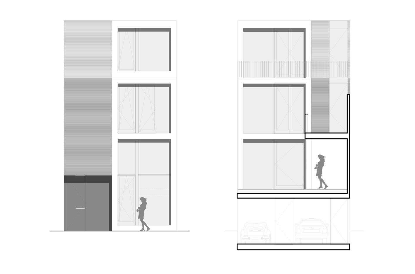 patio3 atelier PUUUR Leiden nieuw leyden particulier opdrachtgeverschap PO zelfbouw vrije gevel indeling