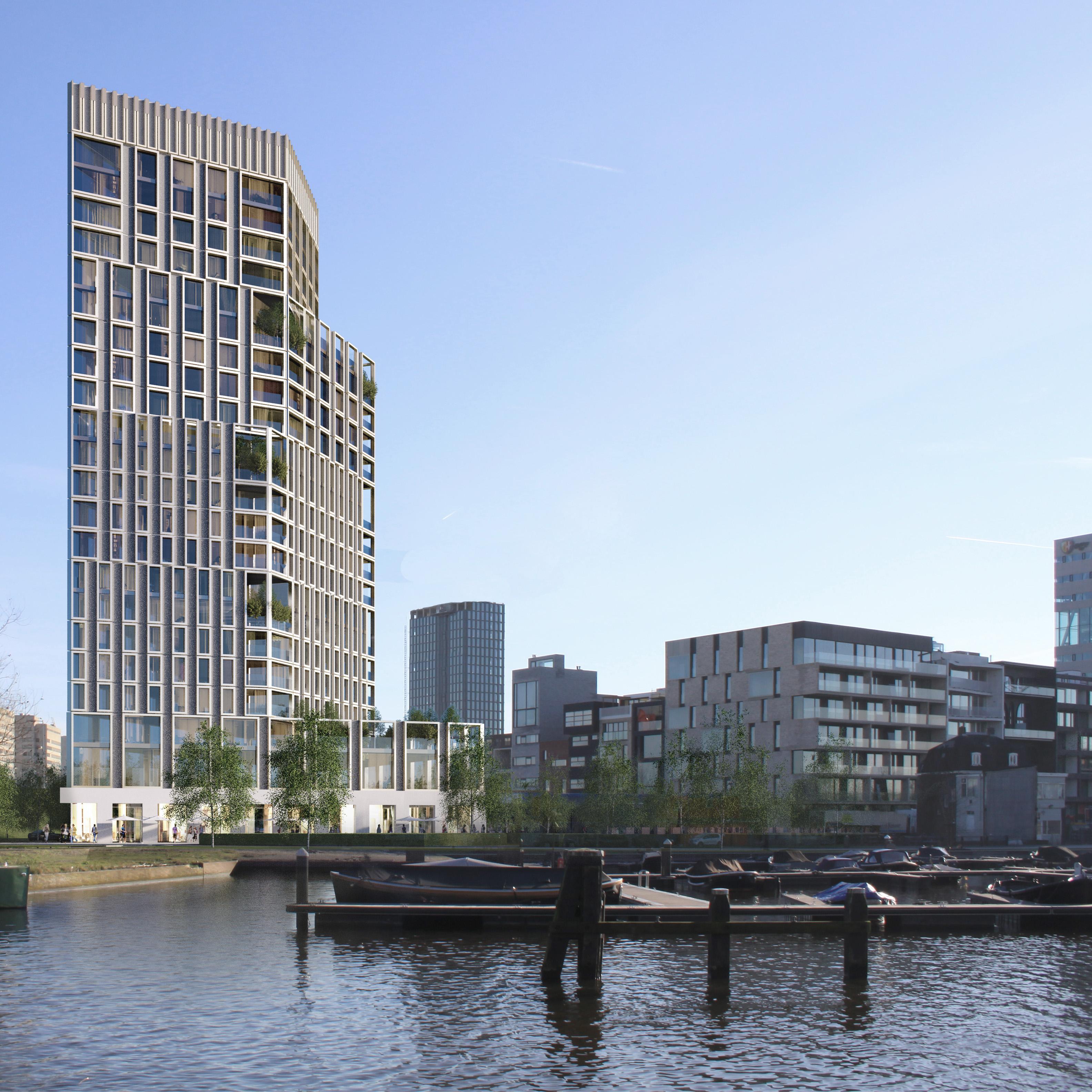 Amstelkwartier Blok1 woontoren Atelier PUUUR hoogbouw Amsterdam