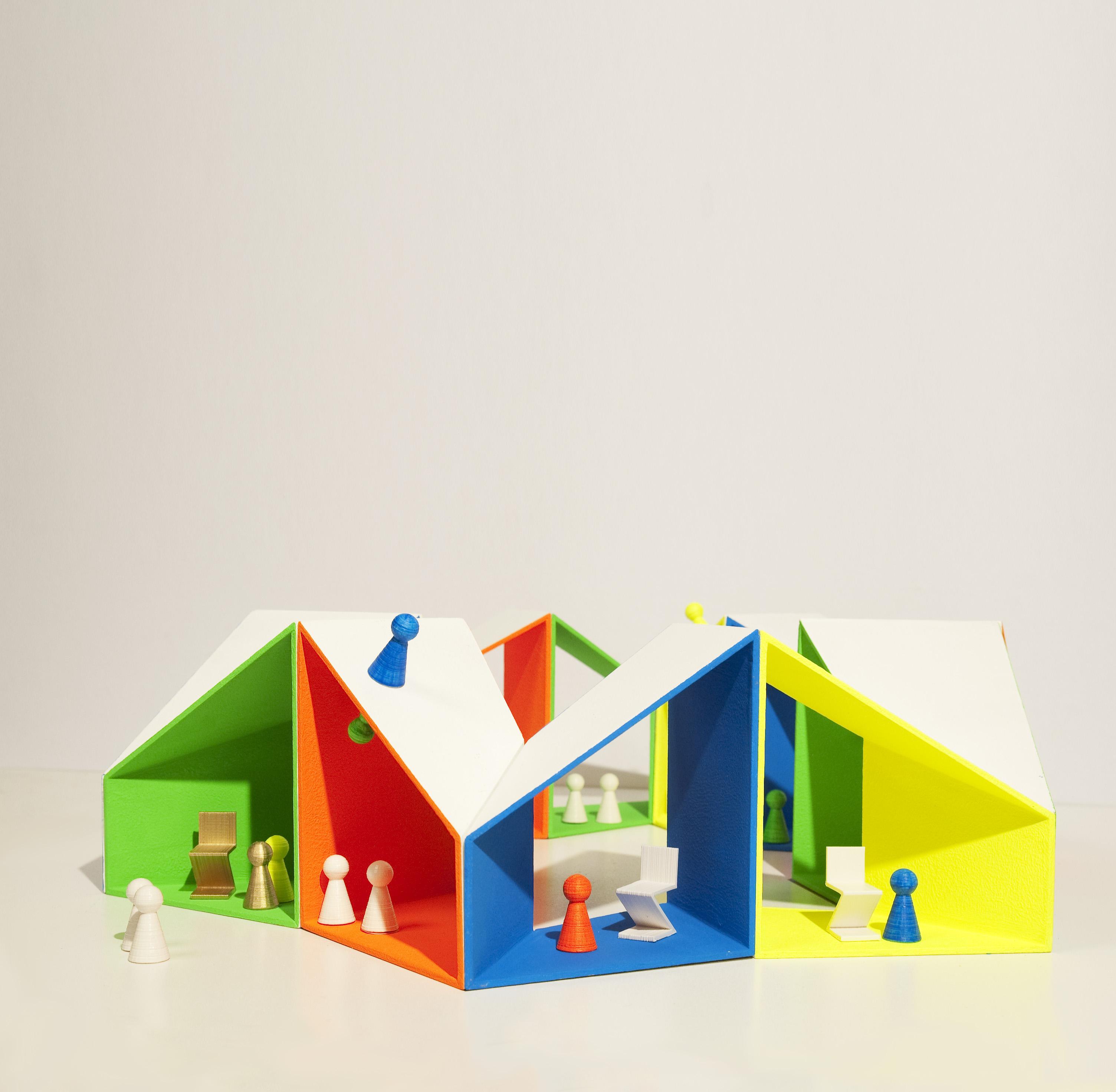 POPPENHUIS WERELD Dollshouse_ rijteshuis