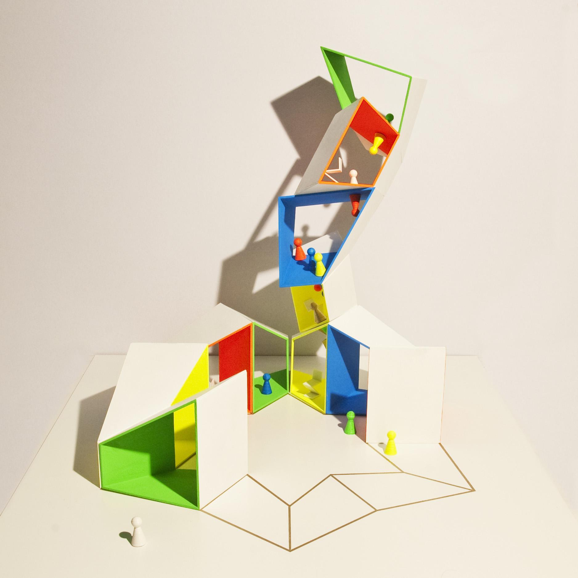 POPPENHUIS WERELD Dollshouse_ toren uit ster