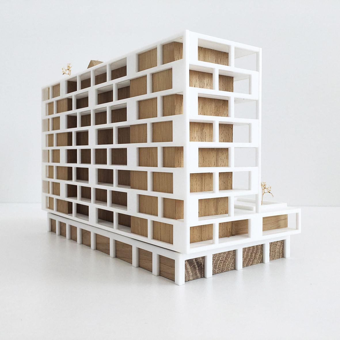 maquette BSH_IMG_5495 atelier PUUUR BSH zelfbouw cpo Amsterdam
