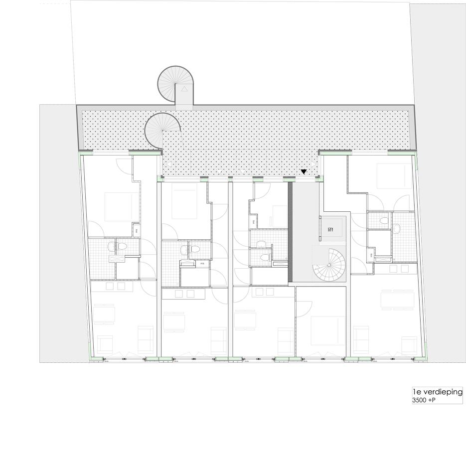 Lutmastraat175 huur studios plan