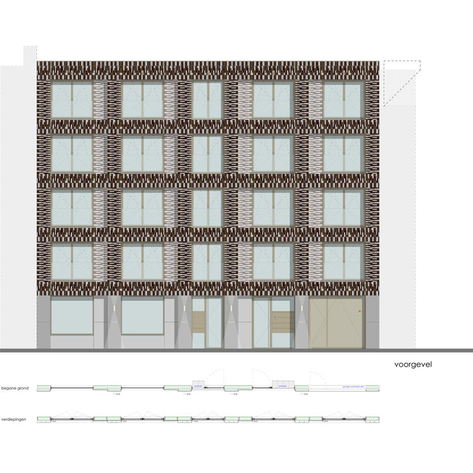 Lutmastraat175 huur studios voorgevel