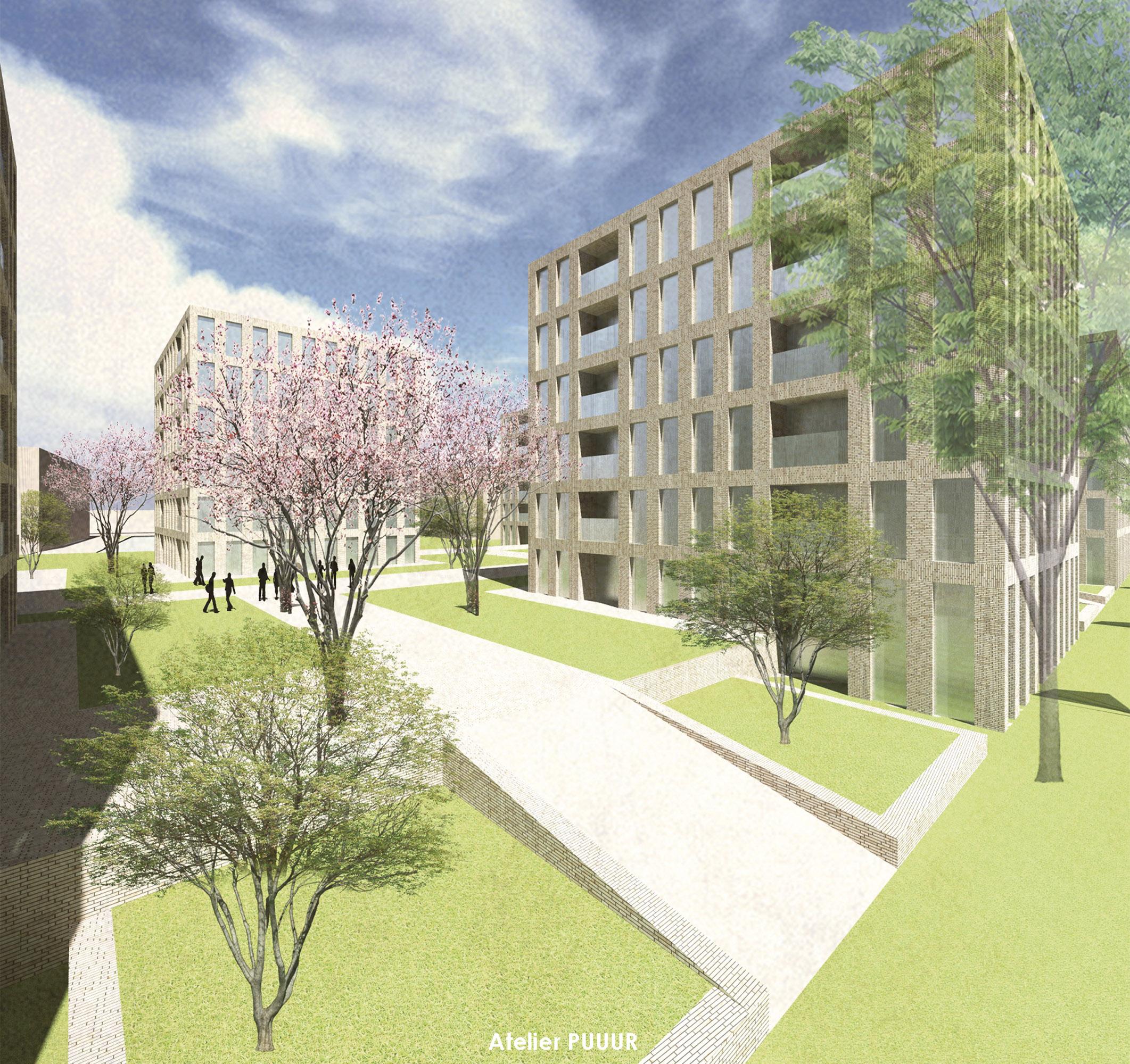 Lindenlaan courtyard 3D2
