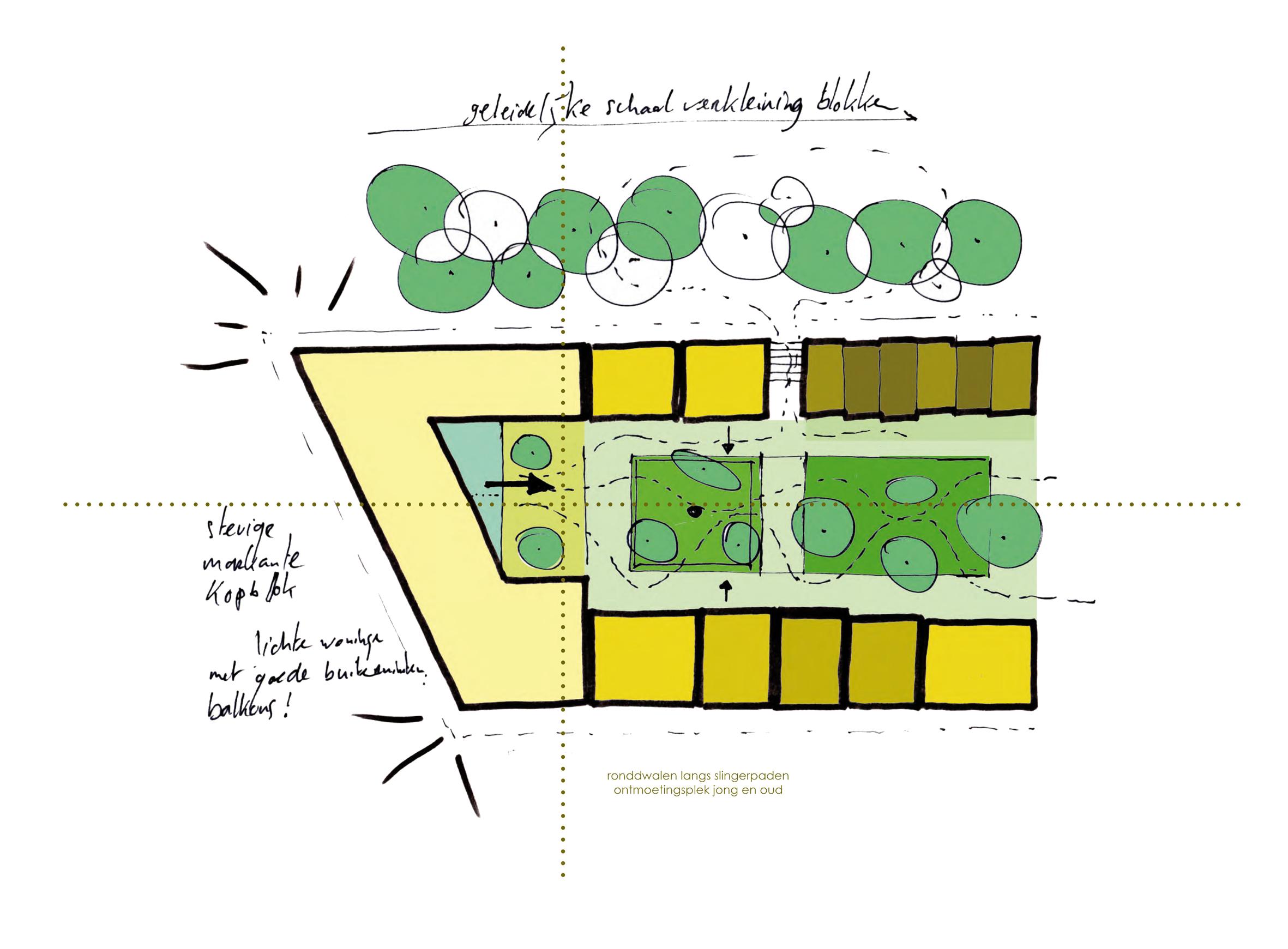 Delft concept schets